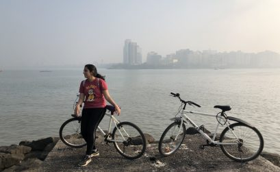Cycling in Mumbai